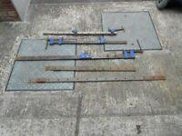 Set of Sash clamps