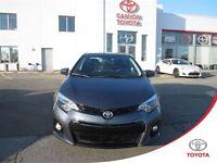 2014 Toyota Corolla S Toit ouvrant