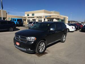 2013 Dodge Durango Crew - V6  AWD  leather  DVD  GPS  7 passenge