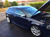 AUDI S3 QUATTRO TFSI FOR SALE -LOW MILEAGE
