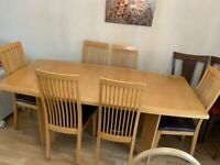 Dining Room Table Solid Wooden extender