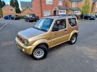 AUTOMATIC Suzuki JIMNY Estate 2000 1,3 LTR PETROL 3 DRS 4X4 £2298 TIDY CAR CALL 0 7 549912028 NO TEX