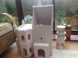 Doll fairy castle