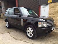 Range Rover TD6 Vogue. 86k. Fresh service and MOT. 24 month warranty. Venture cam included! Lovely