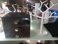Jewellery box & stand