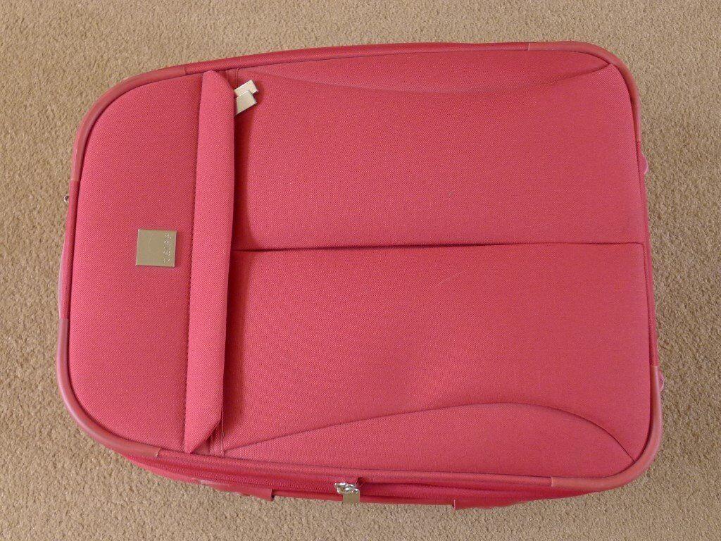 Suitcase, cabin case. Pink. Make 'TRIPP Luggage'