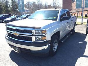 2015 Chevrolet Silverado 1500 LS 2 WHEEL DRIVE CREW CAB WITH TRA
