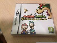 Nintendo ds Mario and Luigi game