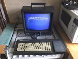 Vintage Amstrad CPC6128 Home Desktop Computer + Accessories