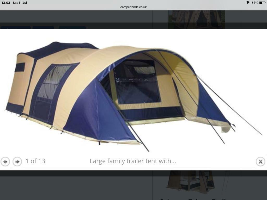 trailer tent sales cardiff