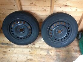 I have for sale 2 Michelin Crossclimate 185/60x15 tyres