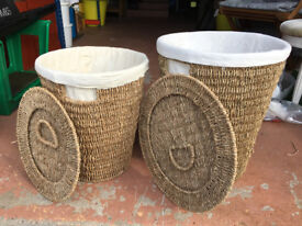 Wicker Basket Set (2)