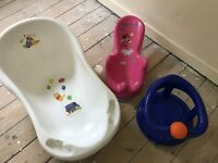Baby's bath and seats