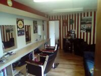 Room to rent in busy award winning Barbershop