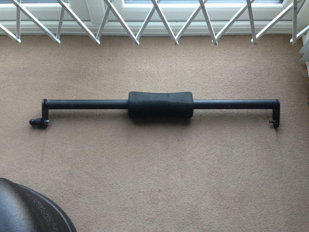 Powertec Squat Bar Attachment Calf Raise Etc In Luton