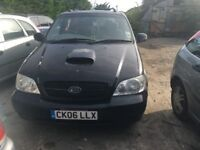KIA SEDONA L 2006- FOR PARTS ONLY