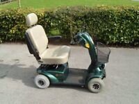 Comfort Coach 4mph mid range mobility scooter. Reliable with good batteries.