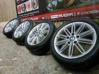 """17"""" BMW 1 SERIES E87 MSPORT ALLOY WHEELS AND TYRES 5X120"""