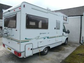 Much Loved Fully Equipped Motorhome, Eldis Autoquest 400