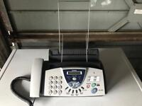 Brother T-106 telephone fax machine
