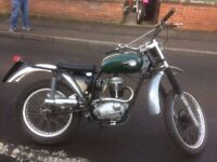 1967 BSA C15 250cc Trials