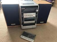 Aiwa Stereo with CD player, radio and cassette
