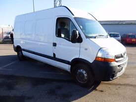 56 Reg Renault Master LWB semi high Great condition, Ready to go