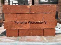 65m Forterra Red Facing Bricks @ £150 Per Pack. Multiple Packs Avail 500 Double Facing Bricks
