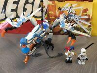 LEGO 2260 Ninjago - Pilot Season - Ice Dragon Attack - 100% Complete