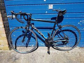 56cm mens carrera road bike in good working order bargain