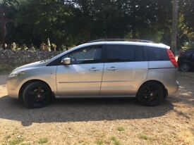 Mazda 5 sport 7 seats. Mot June 2019, s/history . Cambelt replaced. Only 104000. Good condition