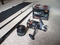 Carp Fishing Rod and Reel Set - New