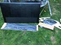 Prado king size bed headboard footboard slats and fittings