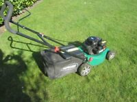 Qualcast rotory petrol mower 3 years old starts first time