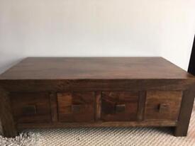 Dakota mango wood coffee table
