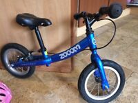 Runbike Zooom. Really excellent strong Runbike with a brake