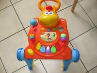 LITTLE TIKES PONY Light 'n Go 3-in-1 Activity Walker Table Push Along Baby - REDUCED TO £9.50 TODAY