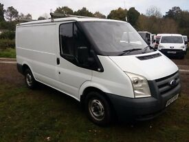 Ford Transit 2.2 TDCi 280 SWB Low Roof Duratorq 3dr Very Tidy , No Vat , Roof Rack