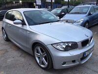 BMW 1 Series 2.0 118d M Sport 3dr£5,995 p/x welcome FREE WARRANTY, NEW MOT