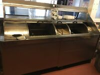 Fish chips fryer for sale