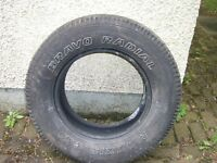 FREE 225/75/16 Maxxis 751 Bravo Radial 4x4 M&S. 3-4mm Useful Spare.