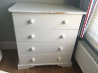 Aspace chest of drawers ideal for baby/child room