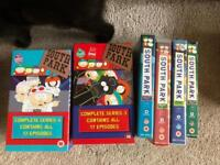 Bundle of SOUTH PARK VHS TAPES- includes two boxed sets
