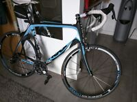 Molto Moda road bike, size XL/61cm, used, like new, good for +- 185cm/6'1' height ACC. INCLUDED!