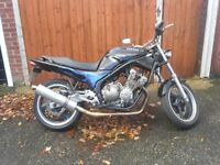xj600 xj 600cc ,streetfighter custom, fully serviced, 12 months mot, 09000 mileage, many new parts