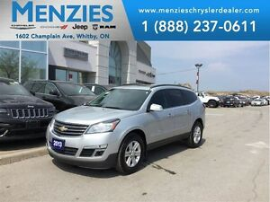 2013 Chevrolet Traverse 2LT AWD, Nav, Sunroof, Clean Carproof