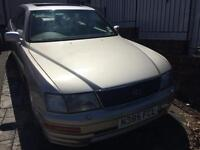 1995 Gold LEXUS LS400 with Sunroof