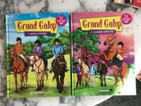 Books in french, guitar method, kids education, winx, grand galop