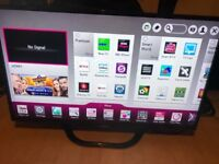 """42""""LG SMART 3D TV FULL HD USB WIFI GOOD CONDITION WITH REMOTE CAN DELIVER"""