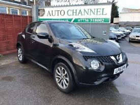 Nissan Juke 1.6 Tekna XTRONIC CVT 5dr£10,485 p/x welcome 1 YEAR FREE WARRANTY. NEW MOT